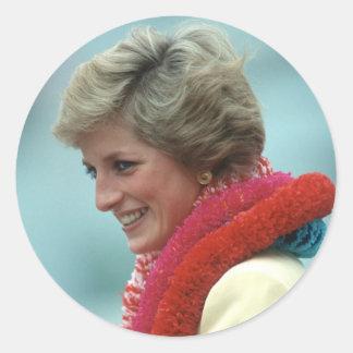 Princesa Diana Hong Kong 1989 Etiqueta