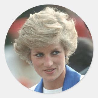 Princesa Diana Hong Kong 1989 Pegatinas
