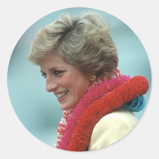 Princesa Diana Hong Kong 1989 Pegatina