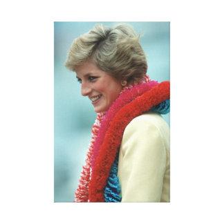 Princesa Diana Hong Kong Impresión En Lienzo