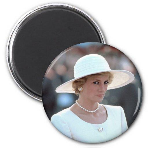 Princesa Diana Hungría 1990 Imán Para Frigorífico