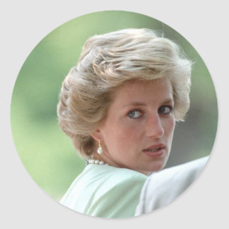 Princesa Diana Hungría 1990 Pegatina