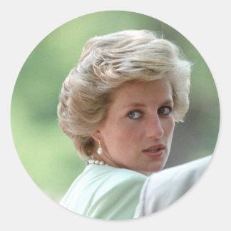 Princesa Diana Hungría 1990 Etiqueta Redonda