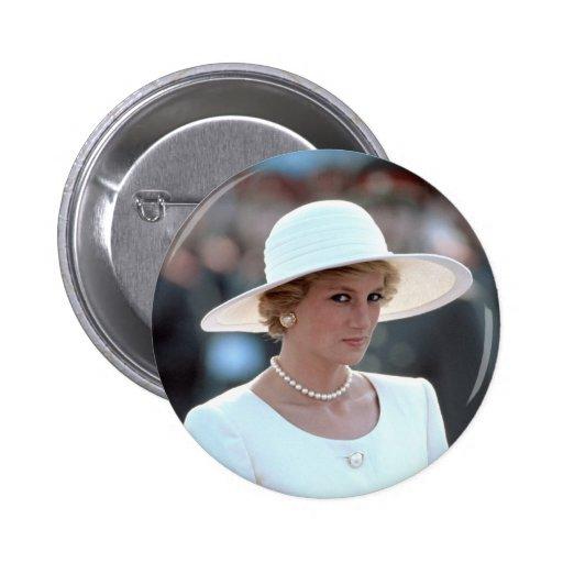 Princesa Diana Hungría 1990 Pin