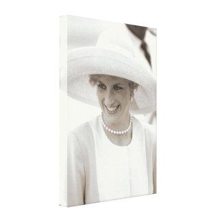 Princesa Diana Nigeria 1990 Impresión En Lona Estirada
