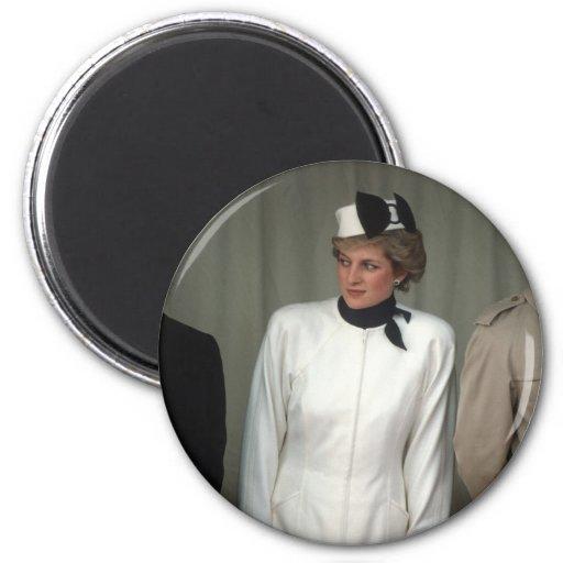 Princesa Diana Portugal Iman Para Frigorífico