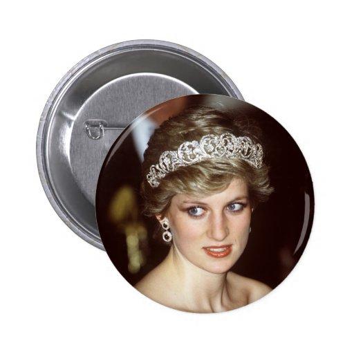 Princesa Diana Portugal Pin