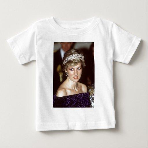 Princesa Diana Portugal Playera De Bebé