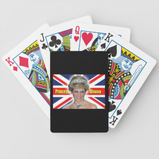 ¡Princesa Diana Stunning de HRH! Cartas De Juego