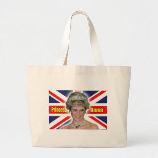 ¡Princesa Diana Stunning de HRH! Bolsa Tela Grande