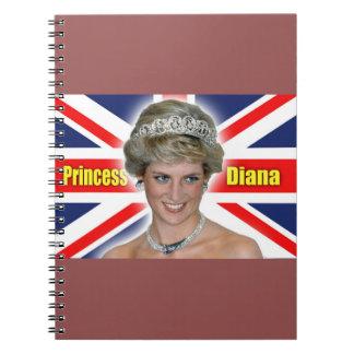 ¡Princesa Diana Stunning de HRH! Spiral Notebook