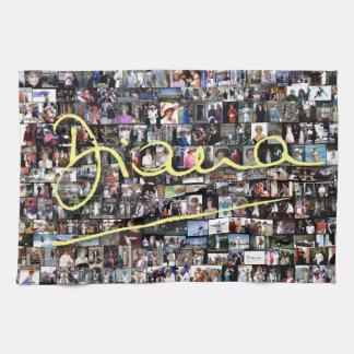 ¡Princesa Diana - todas las fotos de HRH! Toallas De Cocina