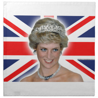 Princesa Diana Union Jack de HRH Servilletas De Papel