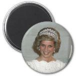 Princesa Diana Washington 1985 Imán De Frigorifico