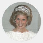 Princesa Diana Washington 1985 Pegatina