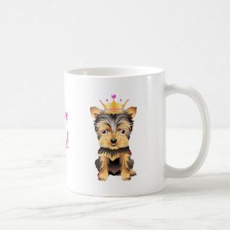 Princesa Dog Coffe Mug Gift de Yorkshire Terrier Taza