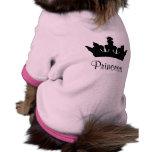 Princesa Dog T-shirt Camisetas Mascota