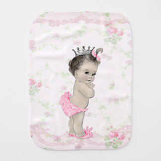 Princesa dulce del rosa del vintage paños para bebé