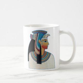 Princesa egipcia taza de café