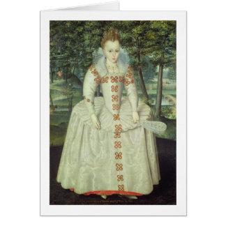 Princesa Elizabeth (1596-1662) 1603 (aceite en lon Tarjeta De Felicitación