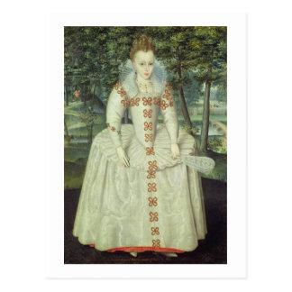 Princesa Elizabeth (1596-1662) 1603 (aceite en Tarjeta Postal