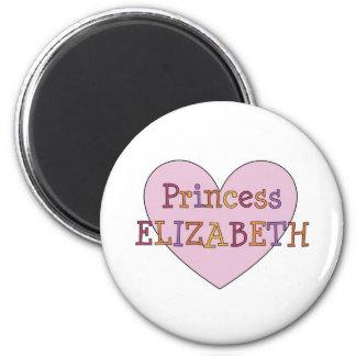 Princesa Elizabeth Imán Redondo 5 Cm
