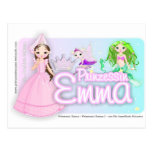 Princesa Emma 2 Tarjetas Postales
