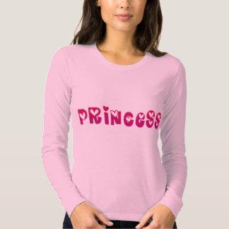 Princesa en corazones playeras