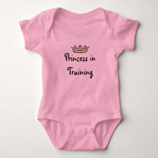 Princesa en el entrenamiento body para bebé