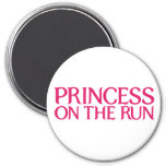 Princesa en el imán del funcionamiento
