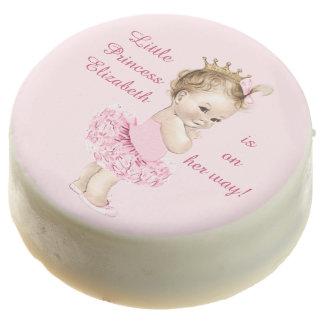 Princesa en fiesta de bienvenida al bebé