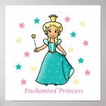Princesa encantada impresiones