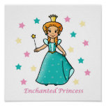 Princesa encantada poster