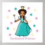 Princesa encantada posters