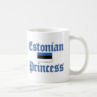 Princesa estonia taza clásica