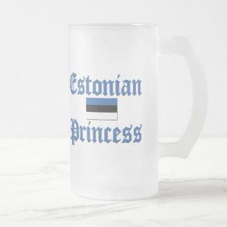 Princesa estonia taza de cristal