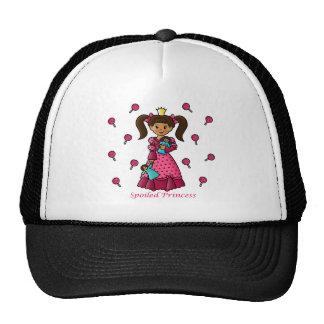 Princesa estropeada gorras de camionero