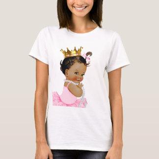 Princesa étnica Ballerina Baby Playera
