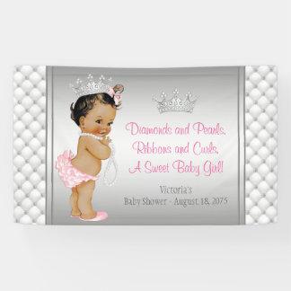 Princesa étnica fiesta de bienvenida al bebé de la lona