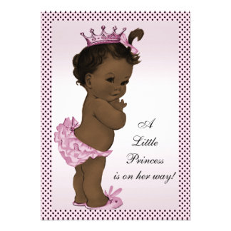 Princesa étnica fiesta de bienvenida al bebé del v