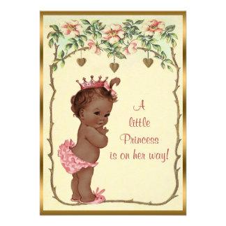 Princesa étnica Roses del vintage y fiesta de bien