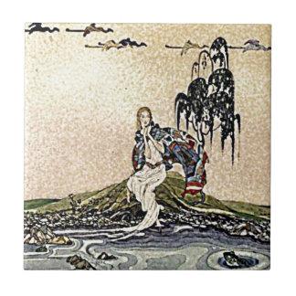 Princesa Fairy por el ejemplo del río Teja Cerámica