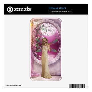 Princesa Fairy Skins Para iPhone 4