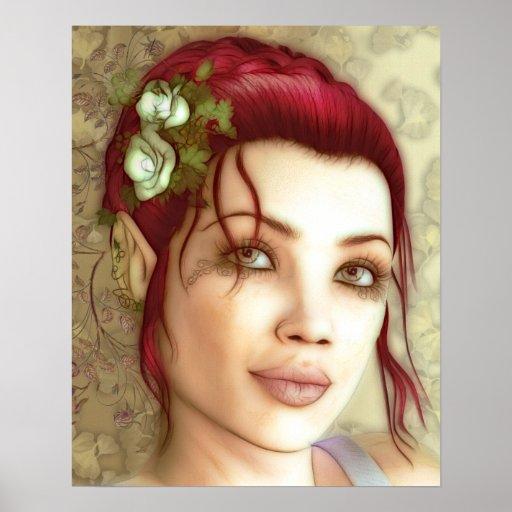 Princesa Fantasy Art de Elven Impresiones