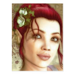 Princesa Fantasy Art de Elven Postal
