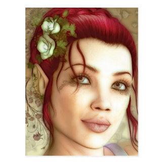 Princesa Fantasy Art de Elven Postales