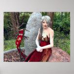 Princesa Fantasy Poster del arbolado