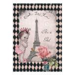 Princesa fiesta de bienvenida al bebé subió torre