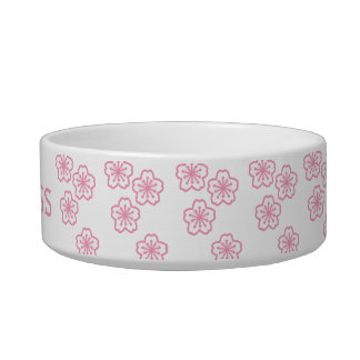 Princesa Floral Pet Bowls Tazón Para Comida Gato