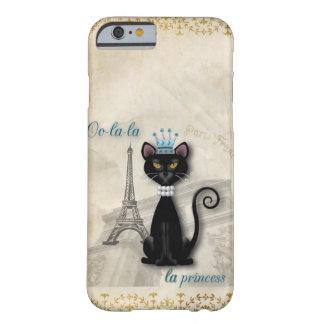 princesa francesa del gatito del Oo-la-la Funda Para iPhone 6 Barely There
